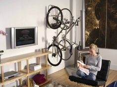Bicycle Storage Ideas For Apartment:Wall Bicycle Storage Ideas Small  Apartments | Small Condo Ideas | Pinterest | Bicycle Storage, Apartment  Walls And Small ...