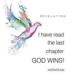 REVELATION I have read the last chapter GOD WINS!