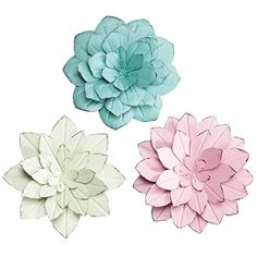 Amazing offer on Fox Valley Traders Rustic Metal Floral Indoor/Outdoor Hanging Decor Maple Lane Creations, Set 3 online - Prettytoppro Metal Flower Wall Decor, Hanging Flower Wall, Wall Decor Set, Floral Wall Art, Metal Flowers, Outdoor Metal Wall Decor, Outdoor Decor, Garden Wall Art, Home Wall Art