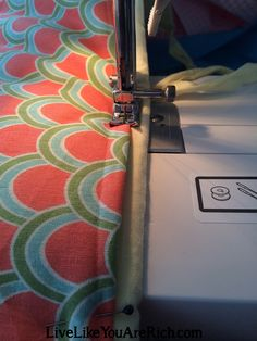 How to Customize, Recover, and/or Reupholster a Bumper Pad Bumper Pads For Cribs, Step By Step Instructions, Sewing, Dressmaking, Couture, Stitching, Sew, Costura, Needlework