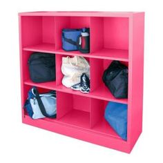 Sandusky, Cubby 46 in. x 52 in. Pom Pink 9-Cube Organizer, IC00461852-30 at The Home Depot - Tablet