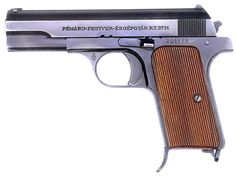 FÉG 37M Pistol - Frommer 37.M Pisztoly (Hungary).