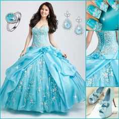 This dress is perfect for your quinceanera!  Find More: http://www.imaddictedtoyou.com