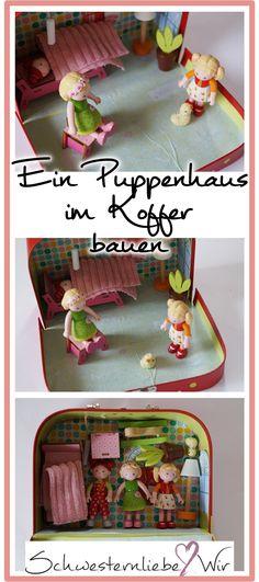 Diy Für Unterwegs Ein Puppenhaus Zum Mitnehmen