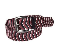 ModeWalk - Braided Coral Belt