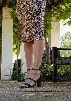 SHOP Confession by Pied A Terre at FSW Shoes. Your one-stop-shop for this season's hottest looks for less. Shoe Warehouse, Latest Shoe Trends, Stand Tall, Confessions, Ankle Strap, Cover Up, Heels, Shopping, Black
