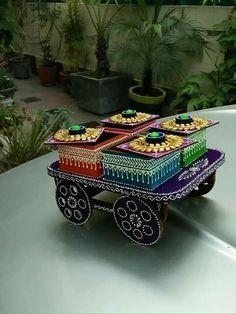Ideas for fruit box ideas diy Diwali Decoration Items, Thali Decoration Ideas, Fruit Decorations, Festival Decorations, Dry Fruit Box, Fruit Fruit, Diwali Craft, Diy Diwali Gifts, Wedding Doll