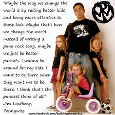 Jim Lindberg of Pennywise on fatherhood