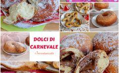 """Dolci di Carnevale fritti e golosi per tutti i gusti, tradizionali e regionali. Perché il motto è """" A Carnevale ogni fritto vale""""."""