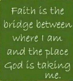 Brings me joy: My faith in God
