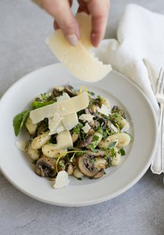 Recipe: Herbed Gnocchi and Mushrooms — Recipes from The Kitchn