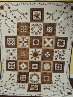 Quilt in a Day - Antique Rose Sampler (Kim's Quilt) Finished - Quilting Photos - Community Forum