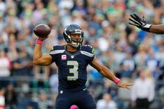 Seattle Seahawks quarterback Russell Wilson (3) throws during the NFL regular season game against the Detroit Lions on Monday, Oct. 5, 2015 in Seattle. (4448×2966)