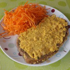 recette du houmous de pois chiches au curry