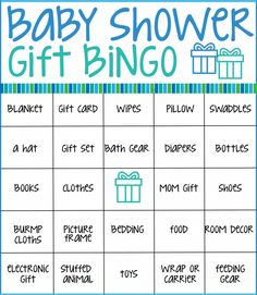 Make your next baby shower memorable with these free printable baby shower bingo cards. Just print the cards, hand out to guests, and see who can get a bingo first while the guest of honor opens gifts! Source by Best Kadın Bingo Baby Shower, Baby Shower Boho, Baby Shower Game Gifts, Easy Baby Shower Games, Fiesta Baby Shower, Simple Baby Shower, Baby Shower Printables, Girl Shower, Baby Bingo