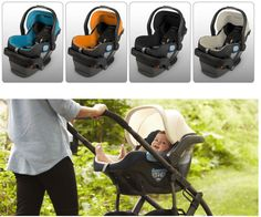 UPPAbaby Mesa infant car seat, fits Vista and Cruz strollers