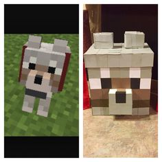Valentine's Box Minecraft Dog