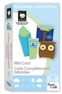 Obsessed with Scrapbooking: Wild Card Cartridge Envelope and Card Sizes for the Cricut
