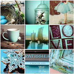 Aqua and chocolate | Flickr - Photo Sharing!