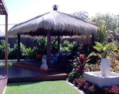 Tropical Back Yard Design Ideas | tropical decorating ideas | tropical backyard landscaping | Back yard ...