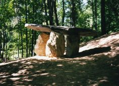 Columcille Megalith Park in the Appalachian Mountains of eastern PA. A park rooted in Celtic spirituality and inspired by the Isle of Iona. A sacred space