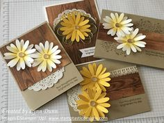 The delightful little daisies are back! The daisy punch was soooo popular that it sold out within the first few days of the new catalog launch! I knew this bundle of products was going to be popu…