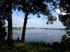 Pine Lake in La Porte, Indiana  - This is the lake I spent summers on as a child. Revisited it this week! Love.