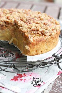Torta di pere con noci ~ Pear cake with walnuts