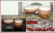 La cocina de Maetiare: Copa tres chocolates