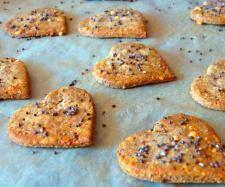 Rezept Chia Cracker von rezeptemitherz - Rezept der Kategorie Backen herzhaft