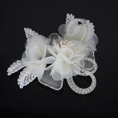 Hey, I found this really awesome Etsy listing at https://www.etsy.com/listing/188275198/bridal-head-flower-headband-flower