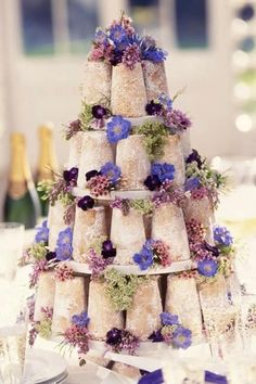 You don't need fondant or buttercream to make a statement with your wedding cake. No matter your wedding style, check out these naked wedding cakes for inspo. Floral Wedding Cakes, Floral Cake, Wedding Cake Designs, Wedding Cupcakes, Wedding Ideas, Cake Wedding, Wedding Planning, Beautiful Wedding Cakes, Gorgeous Cakes