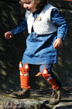 wild and free pants tierleggings nähen für kinder fuchs