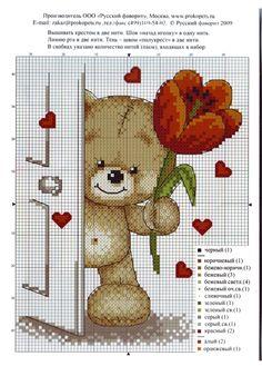CURIOSA CORUJA: Gráfico Pt Cruz - Ursinhos apaixonados