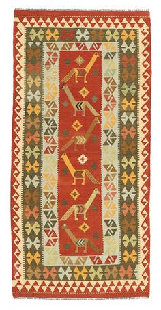 Kelim Afghan Old style-matto 98x207