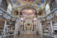 Austria - Admont Abbey Library