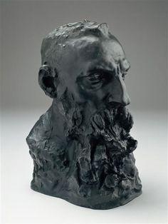 Camille Claudel, Buste of Rodin, Bronze, Roubaix, Musée de la Piscine