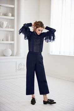 Olivia Palermo designed a fall 2016 collection for Nordstrom. See all the pieces and look book here: