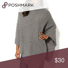 "New York & company turtle neck poncho This is so comfortable and soft. 100% acrylic. Length 35"" that's the longest part of the poncho. New York & Company Sweaters Shrugs & Ponchos"