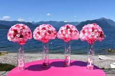 Diaper Flower Arrangements