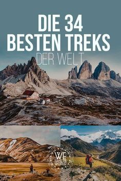 The 34 best treks in the world - why you should have made at least one of them in your life - Die 34 besten Treks der Welt – Warum du mindestens einen davon in deinem Leben gemacht haben solltest The best and most beautiful treks in the world destinations Europe Destinations, Cool Places To Visit, Places To Go, Voyage Quotes, Koh Lanta Thailand, Travel Photographie, Voyage New York, Camping Photography, Voyage Europe