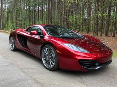Bid for the chance to own a 2014 McLaren Spider at auction with Bring a Trailer, the home of the best vintage and classic cars online. Mclaren 12c, Mp4 12c, Car Part Furniture, Good Looking Cars, Chasing Cars, Car Essentials, Car Hacks, Car Colors, Top Cars