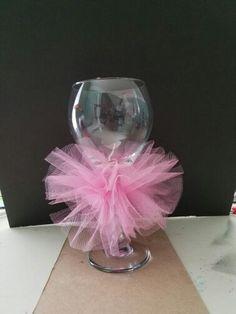Tutu wine glass