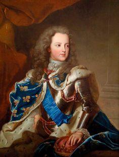 Luis XV de Joven.