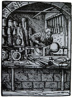 Merchant-and-Makers-Robin-Wood-Bowls-Pole-Lathe-Wood-Turner-7-Turner-in-the-book-of-Trades-1568