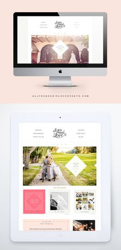 All You Need Is Love website - One Plus One Design