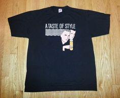 Vintage 80s T-Shirt Bacardi Premium Black Rum by SuperMamaVintage -  $30 via #etsy #vintagetshirt