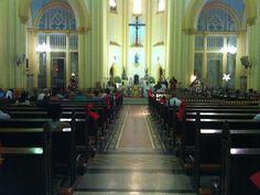 Interior da Catedral de Santos - Sao Paulo