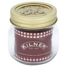 Buy our 250ml Kilner jars today. A clear glass jar has so many uses from chutney to spare buttons storage.
