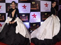 Sonam Kapoor at Star Screen Awards 2016